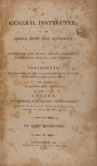 A General Instructer [sic]; Or the Office, Duty and Authority..