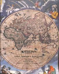 Sale 19-20 Dicembre 1994: Libri, Stampe e Autografi.