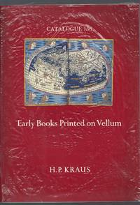 Catalogue 156: Early Books Printed on Vellum
