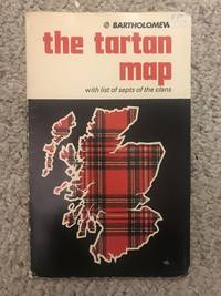 The Tartan Map With List of Septs of the Clans
