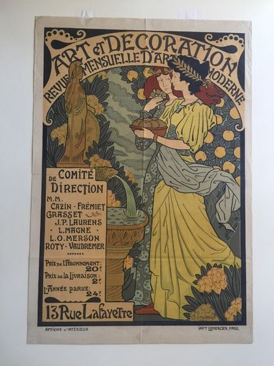 Gustave Lorain. Medium sized poster. in colors. 64mm x 36mm. Lorain only created two posters in his ...