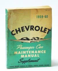 Chevrolet 1959-60 (1960) Passenger Car Maintenance Manual Supplement (PSD 53-52)