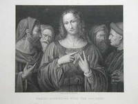 Christ Disputing With The Doctors. From the Original Picture by Leonardo da Vinci in The National Gallery.