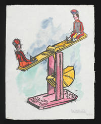 Spielzug 17 Linolschnitte Der Scule Prof. Josef Hoffmann