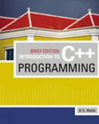 Introduction to C++ Programming  Brief Edition Introduction to Programming
