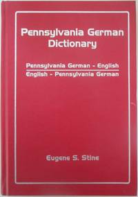 image of Pennsylvania German Dictionary
