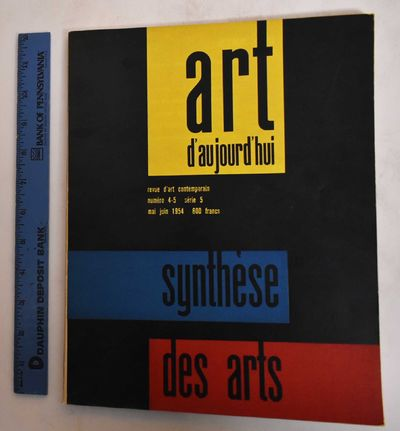 Paris: Art d'Aujourd'hui, 1954. Softcover. VG-, slight wear along edges, rubbing on covers. Inside c...