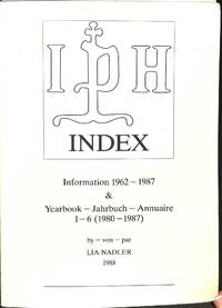 Index. Information 1962-1987 and yearbook 1-6 (1980-1987).
