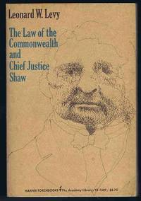 image of The Law of the Commonwealth and Chief Justice Shaw