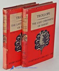 The Last Chronicle of Barset, in two volumes (Everyman's Library #391 &  392)