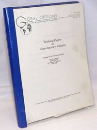image of Working papers on contemprary Bulgaria