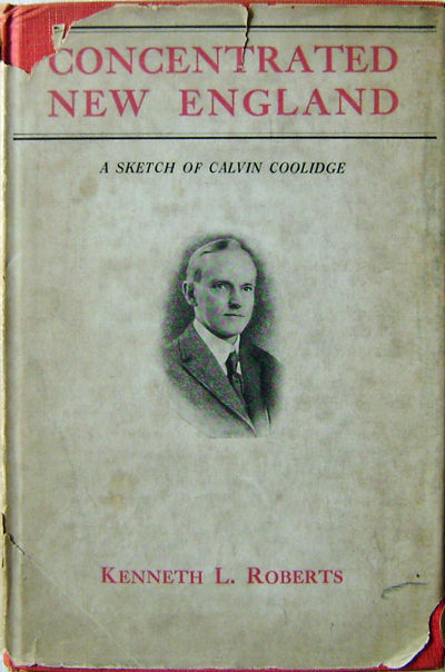 Indianapolis: The Bobbs-Merrill Company, 1924. First edition. Cloth. Very Good/good. 8vo. 58 pp. A b...