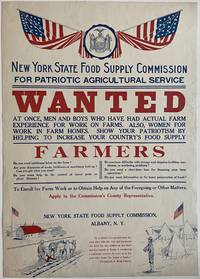WANTED... Show Your Patriotism by Helping to Increase your Country's Food Supply
