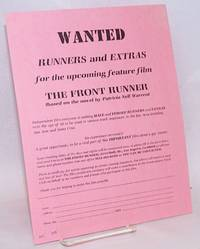 image of Wanted: Runners and extras for the upcoming feature film