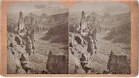 STEREOSCOPIC VIEW,  GLEN EYRIE--FROM THE NORTH.  Showing Echo Rock, Garden of the Gods, and Cheyenne Mountain.  Scenes on the Line of the Denver & Rio Grande Railway