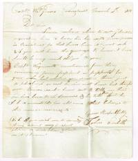 1815 stampless autographed letter  signed John Evelith Cronstadt Russia to Captain William Graves St Petersburg, Russia