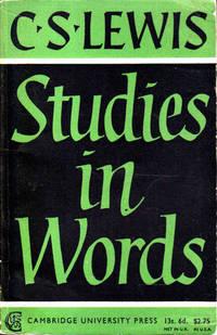 image of Studies in Words