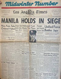 image of Los Angeles Times, Midwinter Number, Friday Morning, January 2, 1942: Manila Holds in Siege (Newspaper)