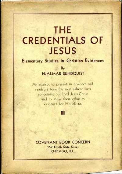 Chicago, IL: Covenant Book Concern, 1930. Book. Very good+ condition. Hardcover. Signed by Author(s)...