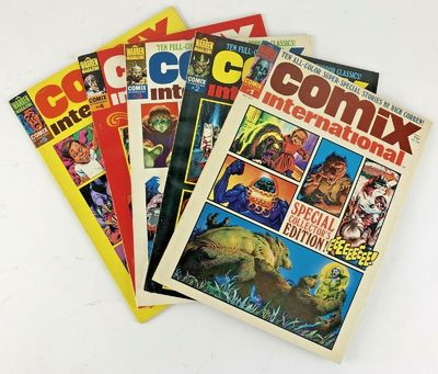 Warren Publishing, 1974-1977. Saddle-stitched. VF+; Magazines have light creasing to covers, mild st...