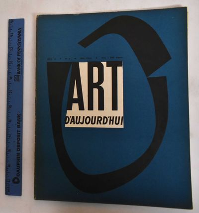 Paris: Art d'Aujourd'hui, 1952. Softcover. VG-, covers some wear along edges, rubbing on back cover....