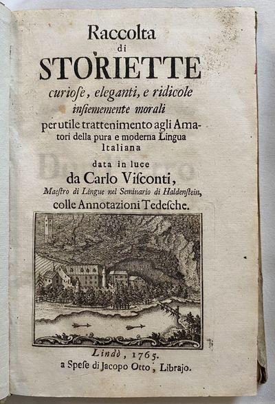 Raccolta di Storiette curiose,...