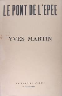 Yves martin - Mars - Vanity Row - Cantos de l'oignon - Poèmes brefs.