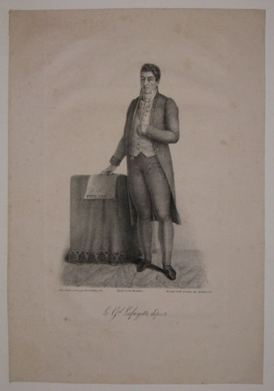 Paris: Sentex, 1828. unbound. very good. Portrait. Lithograph. Page measures 15
