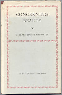 Concerning Beauty by  Frank Jewett  Jr. - First Edition - 1935 - from Dennis Holzman Antiques (SKU: 005977)