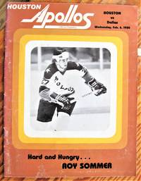 image of Houston Apollos Program. Houston Vs Dallas, Wednesday, Feb. 6, 1980