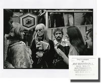 image of Original double weight photograph of Dennis Hopper, Brian Jones, and Nico at the Monterey Pop Festival, 1967