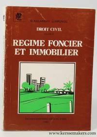 Droit civil volume II. Regime foncier et immobilier. Preface de Christian Lambotte