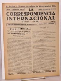 image of La Correspondencia internacional; revista semanal, año VI, num.12, 2 marzo 1934