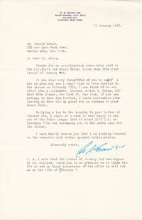 image of Typed Letter Signed / Autograph Note Signed