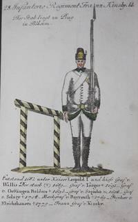Geschichte und Bildliche Vorstellung der Regimenter des Erzhauses Oesterreich