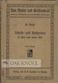 Leipzig: B.G. Teubner, 1910. cloth. 12mo. cloth. (iv), 156, 32, (2) pages. Third edition, revised. C...