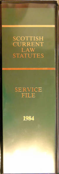 image of Scottish Current Law Statutes. Service File 1984