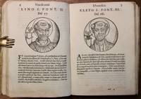 Le vite di tutti i pontefici da S. Piero in Qua, Ridotte in Epitome du Tomaso Costo...Secondi la Descrizzione del Platina, Corretta dal Panvinio.