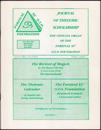 Journal of Thelemic Scholarship : Volume 1, Numbers 1-5 Complete