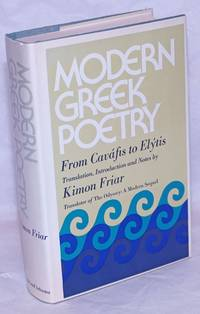 image of Modern Greek Poetry