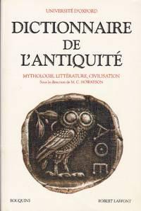 Dictionnaire de l'Antiquité.  Mythologie, littérature, civilisation