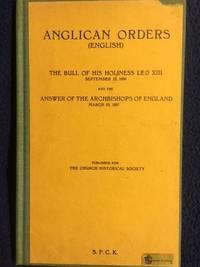 Anglican Orders (English)