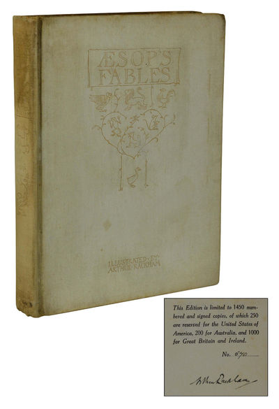 London: William Heinemann, 1912. Signed Limited Edition. Hardcover. Good. Deluxe limited edition; co...