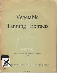Vegetable Tanning Extracts  [SCARCE]