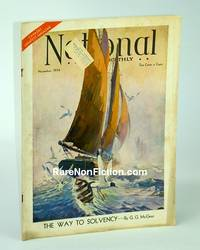 The National Home Monthly Magazine, November 1934 - Heroic Canadian Monetary Reformer Gerald Grattan McGeer