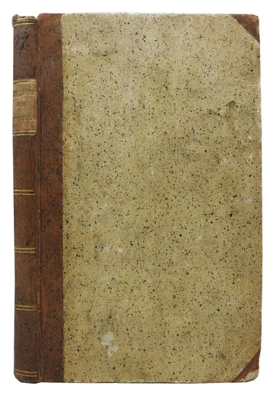 Stockholm: Tryckt hos Johan Chr. Holmberg, 1802. 1st edition thus. Period tan half-calf with speckle...