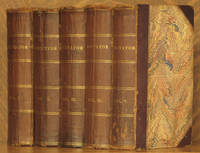 image of THE SPECTATOR (10 VOL. SET, BOUND AS 5 VOLS - COMPLETE) [THE BRITISH CLASSICS SERIES]