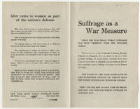 World War I Fight for Woman Suffrage in New York Discussed in Global Context