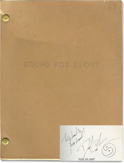 Beverly Hills, CA: United Artists / The Bound for Glory Company, 1975. Revised script for the 1976 f...