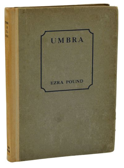 London: Elkin Mathews, 1920. First Edition. Very Good. First edition, first printing. Bound in publi...